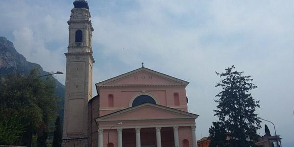 Die Kirche San Martino in Gargnano