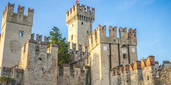 Das Schloss in Sirmione